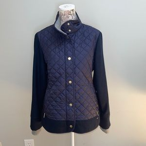 Tommy Hilfiger Blue Quilter Large Coat